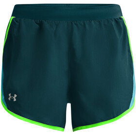 Under Armour Fly By 2.0 Shorts Damer, petroleumsgrøn